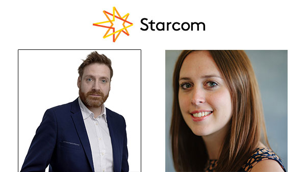 Starcom UK bolsters senior leadership team with promotion of Elliott Millard and appointment of Kay Martin