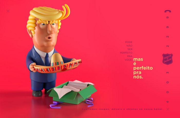 Salvation Army Uses Political Humour To Generate Donations In Brazil