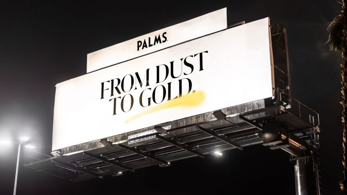 "Palms Casino Resort unveils ""From Dust to Gold"" campaign by AKQA"