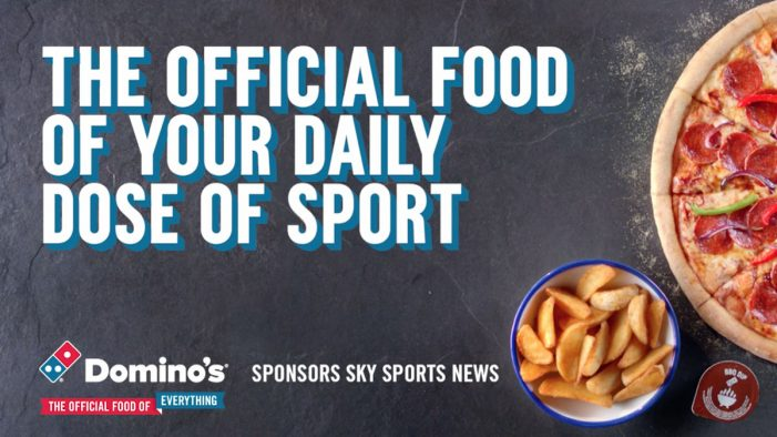 Domino's Ties up with Sky Sports News to Target Hungry Sports Fans