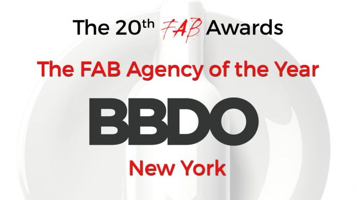 BBDO New York Retains FAB Agency of the Year Title at The 20th FAB Awards