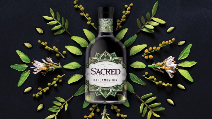 Hart & Jones Invoke Mysteries of the Orient in New Design for Sacred's Cardamom Gin