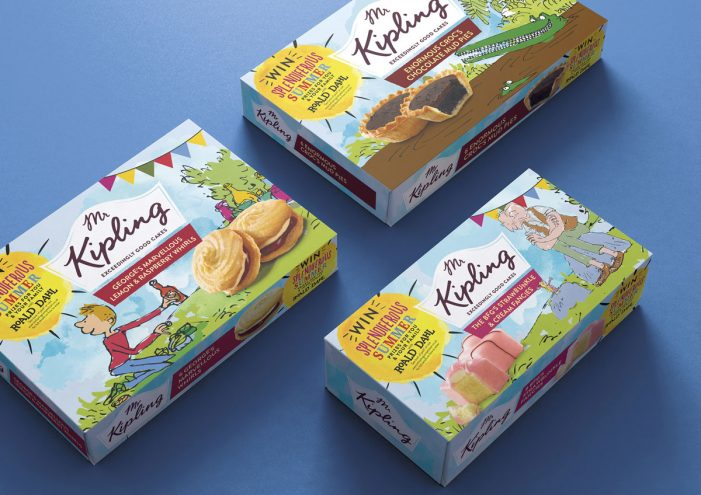 Coley Porter Bell Delivers a Splendiferous Summer for Mr Kipling