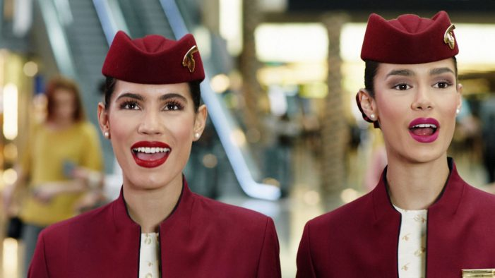 Football fun in Qatar Airways' jubilant World Cup campaign by 180 Kingsday
