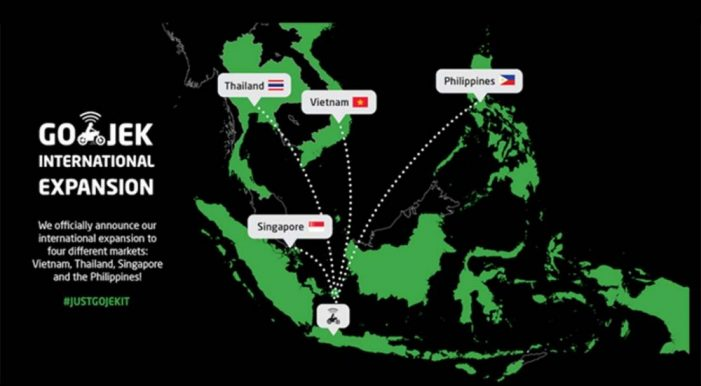 Go-Jek announces Southeast Asia expansion with $500m investment