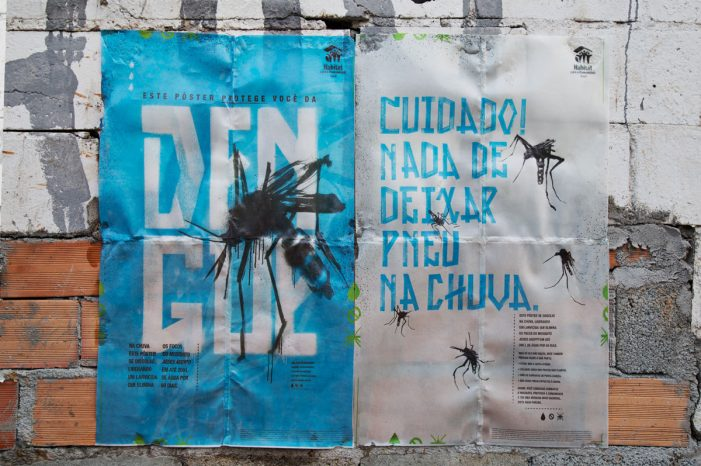 Poster transforms rain into a deadly trap against mosquitoes that transmit Dengue, Zika and Chikungunya