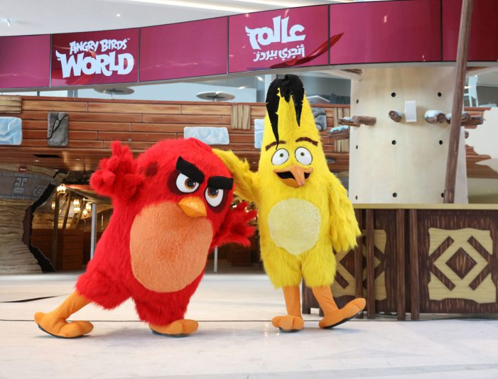 Rovio Entertainment unveils state-of-the-art entertainment park in the Middle East