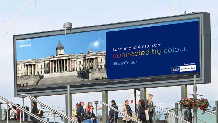 Dulux invites London and Amsterdam to connect through colour