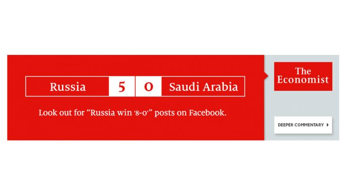 The Economist kicks off real-time World Cup marketing campaign