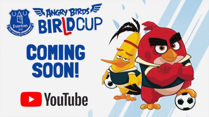 Rovio Entertainment and Everton kick off World Cup celebrations with new YouTube series