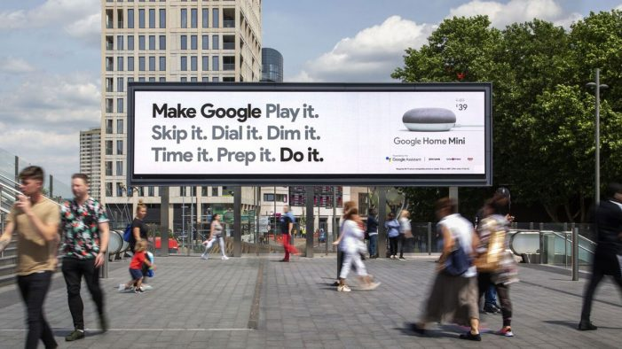 """Make Google Do It"" Launches in UK Wide DOOH Campaign"