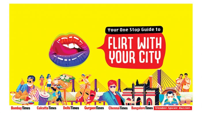 'Flirt with your city' says TOI's new campaign for its metro supplements