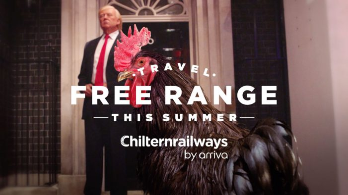 "Chiltern Railways and The Gate launch disruptive ""Travel Free-Range"" summer campaign"