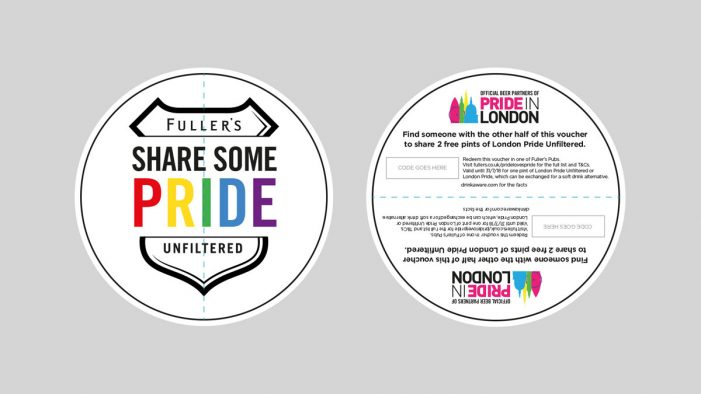 Recipe Launches 'Pride Loves Pride' Campaign for Fuller's in the UK