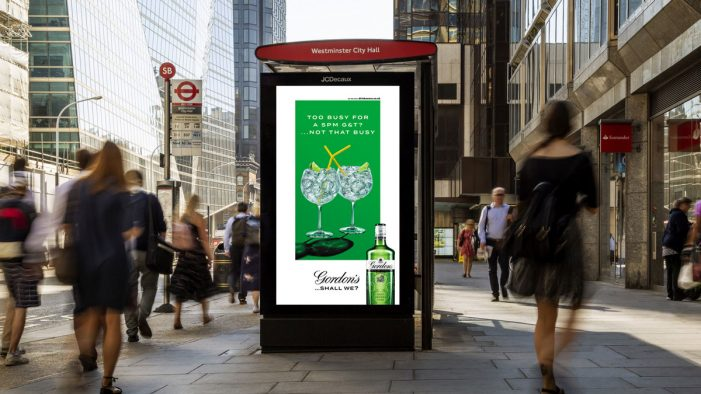 Diageo Continues OOH Innovation, Launching the Medium's Most Sophisticated Portfolio Campaign
