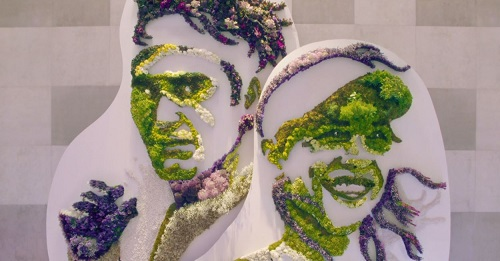 Wimbledon Champions Are Reimagined in Botanical Splendour