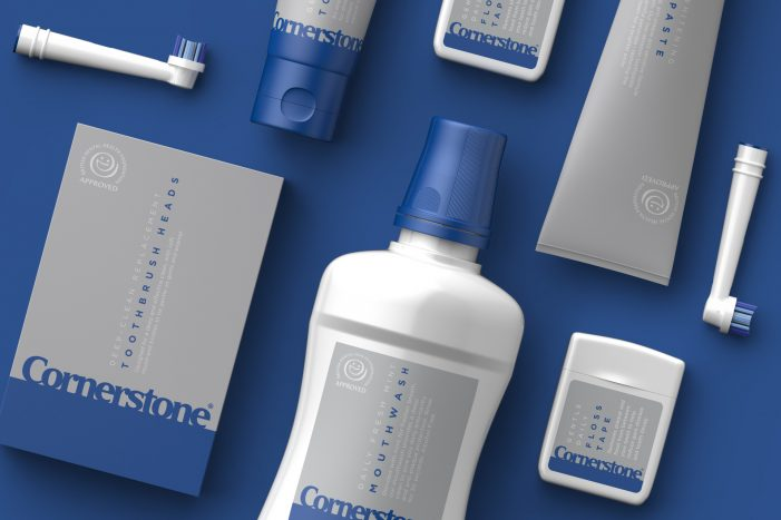 Path brands Cornerstone's new dental care range