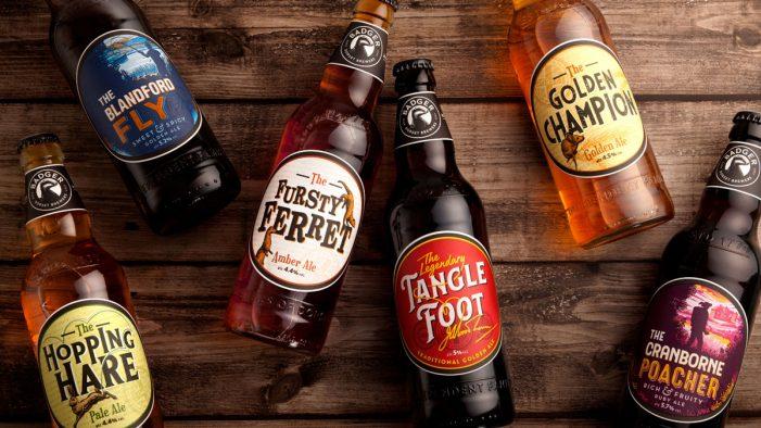 Badger Ales Rebrand by BrandOpus Celebrates Local Dorset Heritage