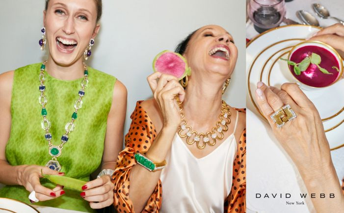 David Webb unveils new 'Everyday Revelry' campaign by Yard NYC