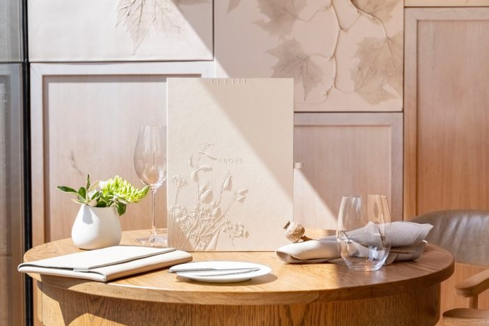Nature and Fine Dining Collide in Here Design's Identity for Luxury London Restaurant HIDE