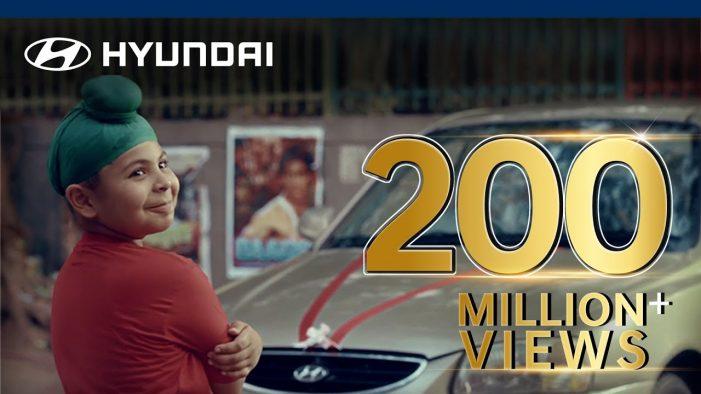 INNOCEAN's online ad for Hyundai India reaches 210 Million views