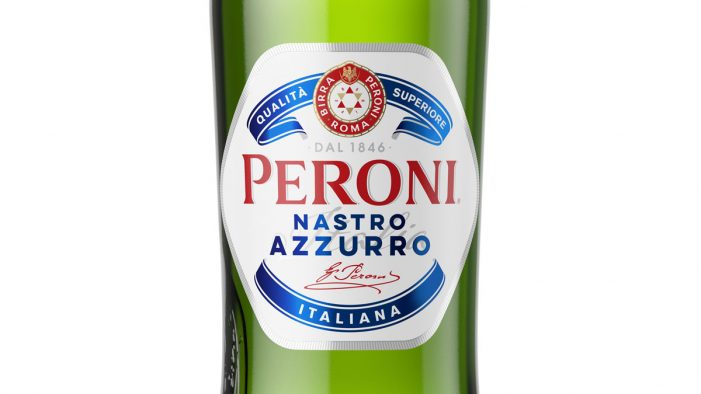 Nude Brand Creation Develops New Logo, Bottle and Glassware for Peroni Nastro Azzurro