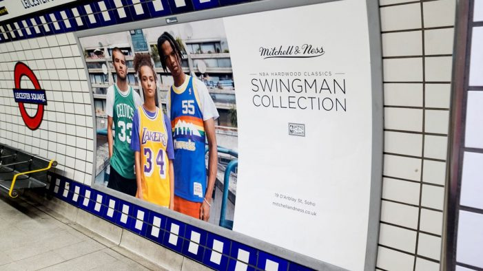 Mitchell & Ness launches first above the line campaign in the UK