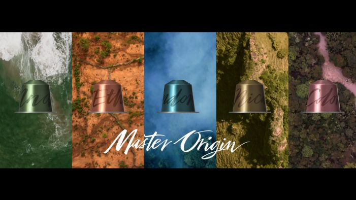 Nespresso Launches New Master Origin Range with Stunning Rainforest Films