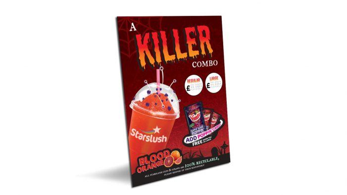 Vimto OOH unveil new 'Killer Combo' promotion for Halloween