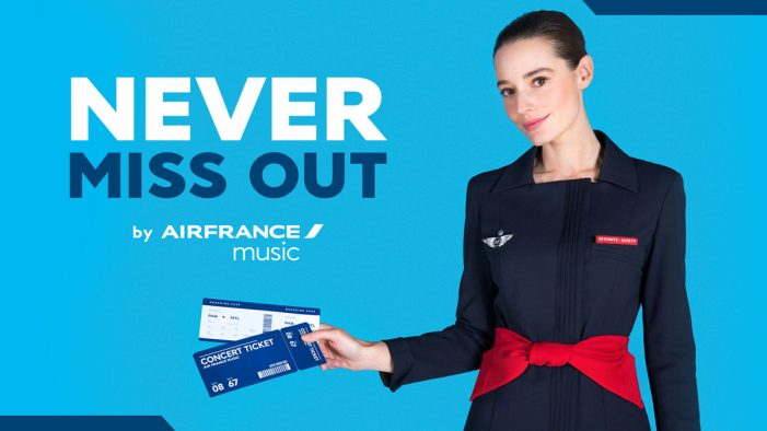 "BETC's General POP and Air France Music launches ""Never Miss Out"""