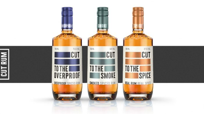 ButterflyCannon Cuts to the Chase with the Branding for Disruptive New Rum Brand, CUT RUM
