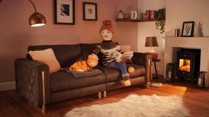 krow works with DFS on an Autumn campaign entirely focused on comfort
