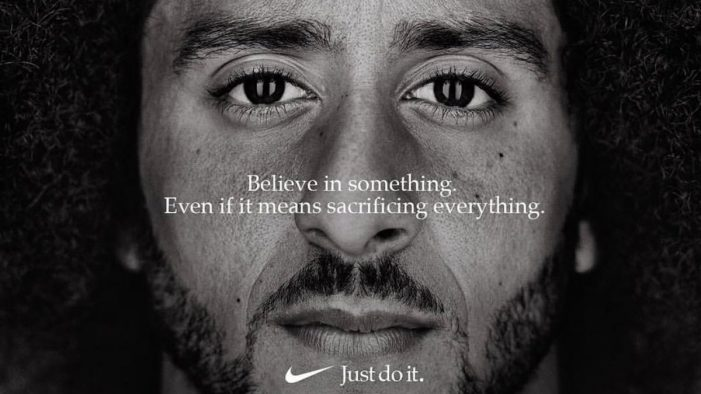 Nike Takes a Knee with Colin Kaepernick for 30th Anniversary Just Do It Campaign