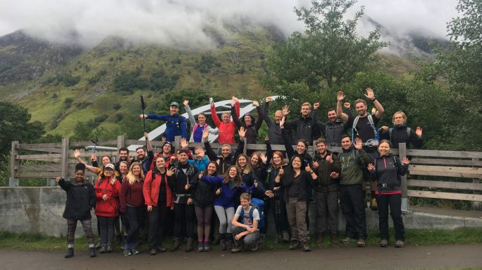 The Creative Engagement Group takes on Three Peaks Challenge in support of Child.org