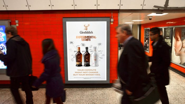 William Grant & Sons Experiments with First Dynamic OOH Campaign for its Glenfiddich Experimental Series