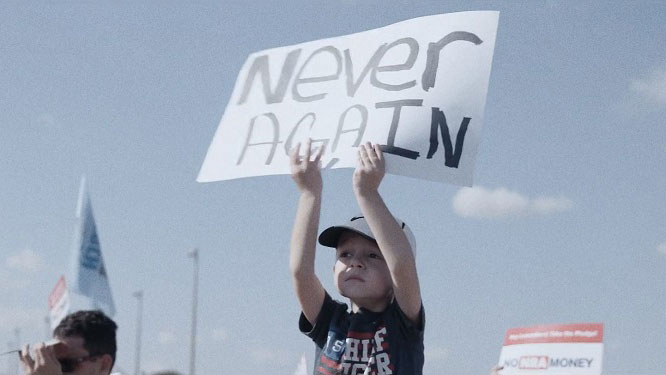 Powerful short film by Area 23 and Great Guns says 'Never Again' to school shootings