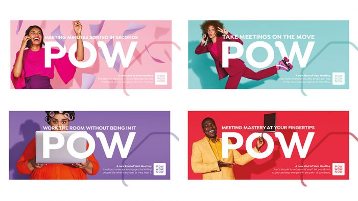 PowWowNow reveals new brand identity with Truant London campaign