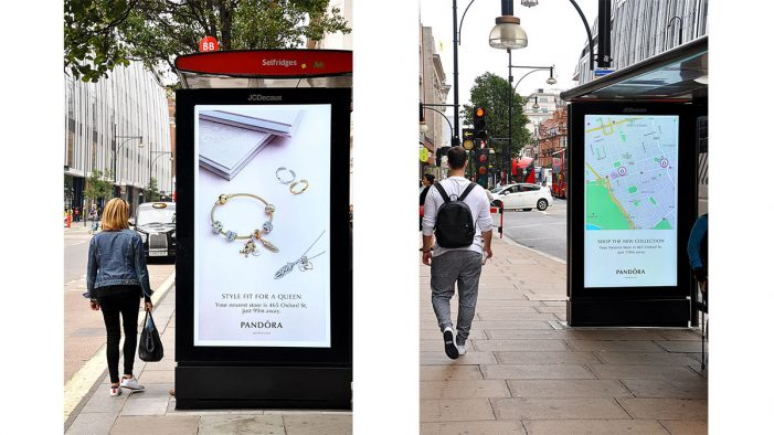Pandora unveils first dynamic OOH campaign to launch new Regal Tales and Grains of Life collections