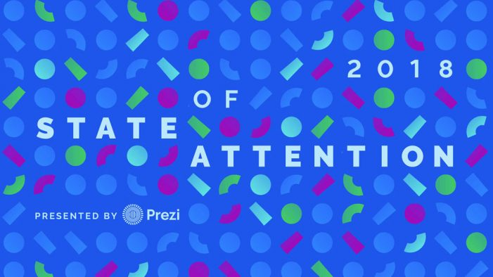 New survey by Prezi finds attention spans aren't shrinking — they're evolving