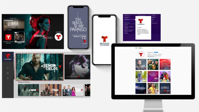 Red Bee announces the launch of Telemundo's brand refresh