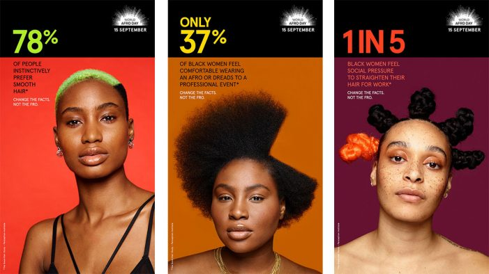 World Afro Day and Ogilvy team for first-ever campaign to raise awareness around hair bias
