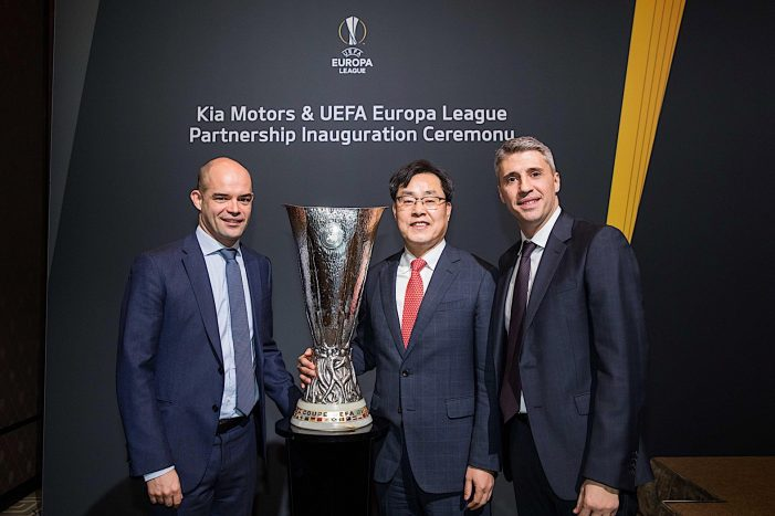 Kia Motors kicks off UEFA Europa League as official partner for 2018-21