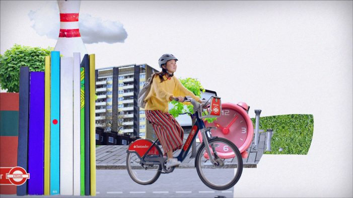 Santander promote cycling as the ultimate method to rediscover London in new ad