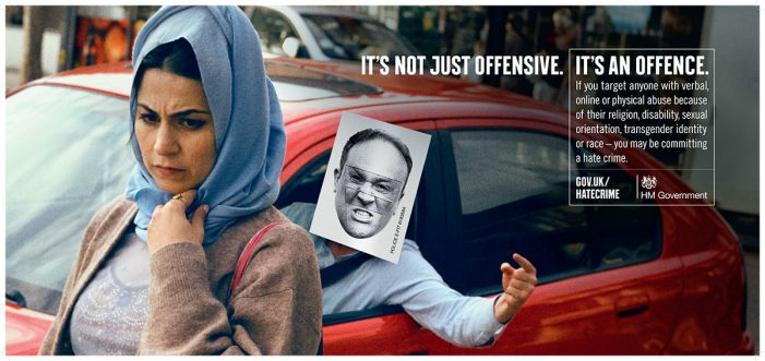 M&C Saatchi London and The Home Office raise awareness of hate crimes in hard-hitting new campaign