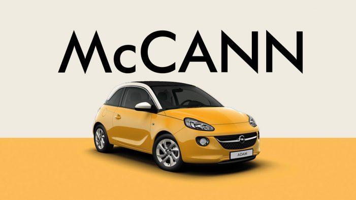Opel names McCann as new European creative agency