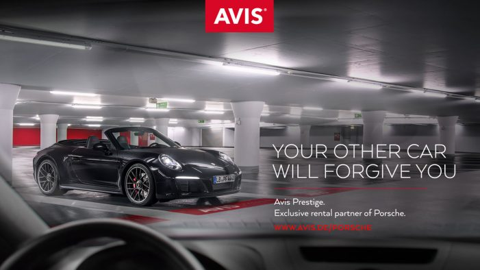 New campaign by Collective London reveals and celebrates Avis' relationship with Porsche