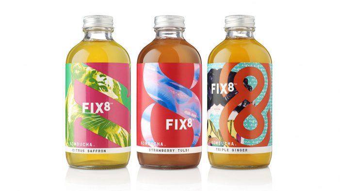 B&B Studio Celebrates the Power of Positive Addiction in New Brand Creation for FIX8 Kombucha