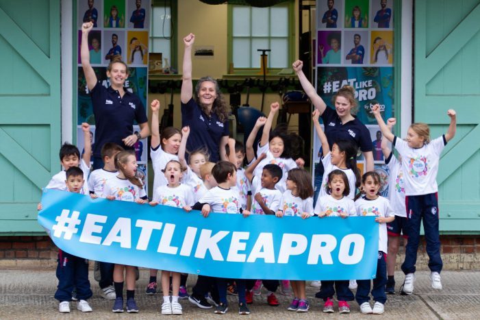 Olympic rower Cath Bishop brings Beko's #EatLikeAPro healthier eating initiative to Cambridge