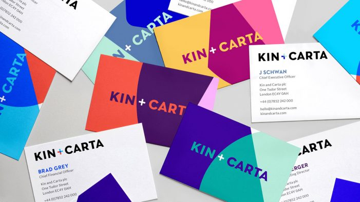 Carter Wong unveils new visual identity for St Ives Group rebrand as Kin + Carta