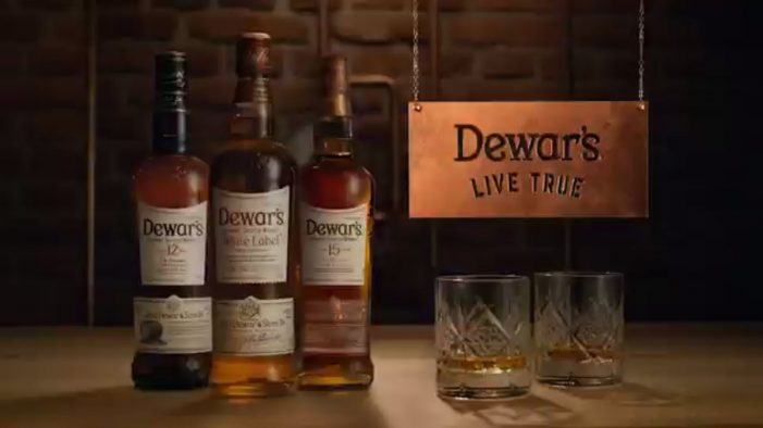 Dewar's Doubles Down on its 'Live True' Anthem with New $15M Global Campaign